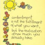 The Trials of Contentment