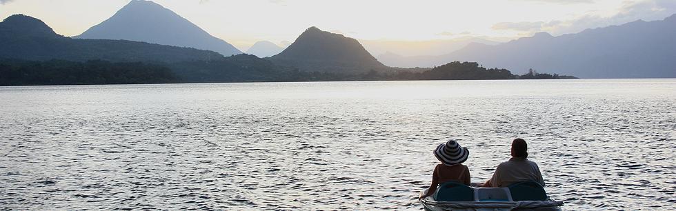 the lake paddleboat