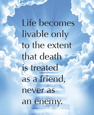 death as a friend